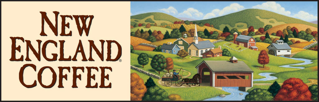 New England Coffee. For more than years, New England Coffee has been dedicated to providing consistently delicious coffee, sip after sip, cup after cup. We source only the highest quality Arabica coffee beans to craft a wide variety of coffee, including superb blends, full-bodied dark roasts and delicious flavors.