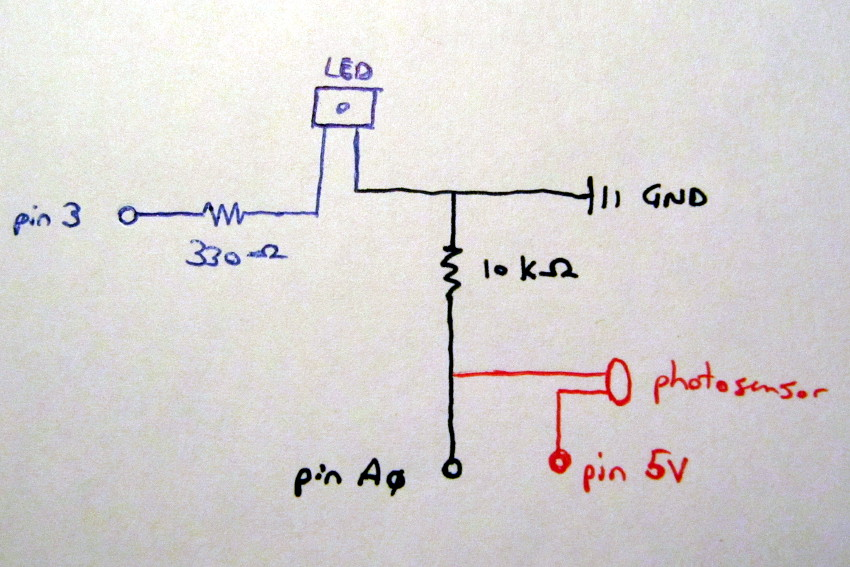 Phenomenal Simple Led Circuit Diagram On Photocell Lighting Wiring Diagram Wiring Digital Resources Funapmognl